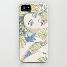 beauty in simple things iPhone Case