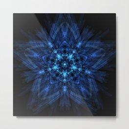 Star Rebirth Mandala Metal Print
