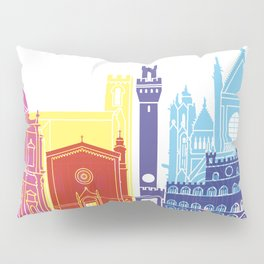 Siena skyline pop Pillow Sham