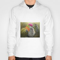 aperture Hoodies featuring Superb Fruit Dove by Pauline Fowler ( Polly470 )