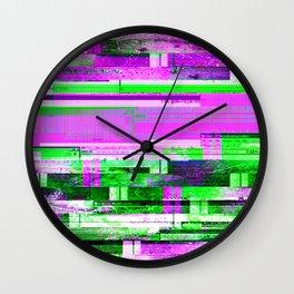 TED Glitch Wall Clock