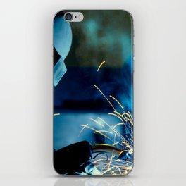 The Welder iPhone Skin