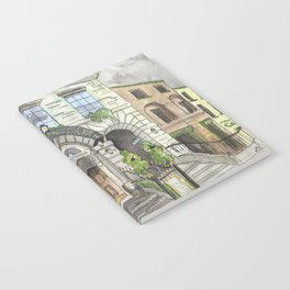Merchant's Arch, Dublin Notebook