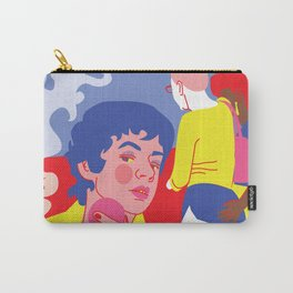 sneaky lesbians Carry-All Pouch