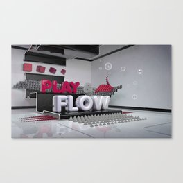Play & Flow Canvas Print
