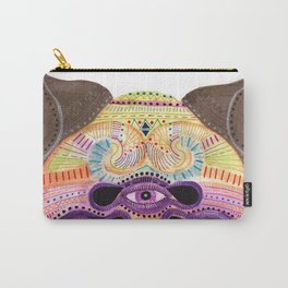 watch my lips mask Carry-All Pouch