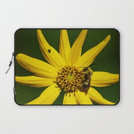 The Bumble and The Sunflower #2 Laptop Sleeve