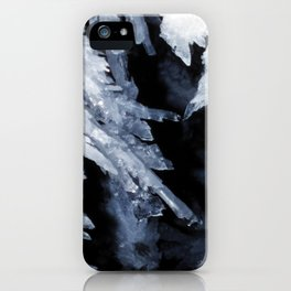 Watercolor Rock, Lechuguilla Cave 17, New Mexico, The Crystal Fingers iPhone Case
