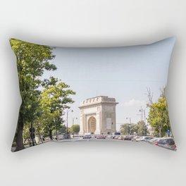 Roumania, Arch of Triumph of Bucharest Rectangular Pillow