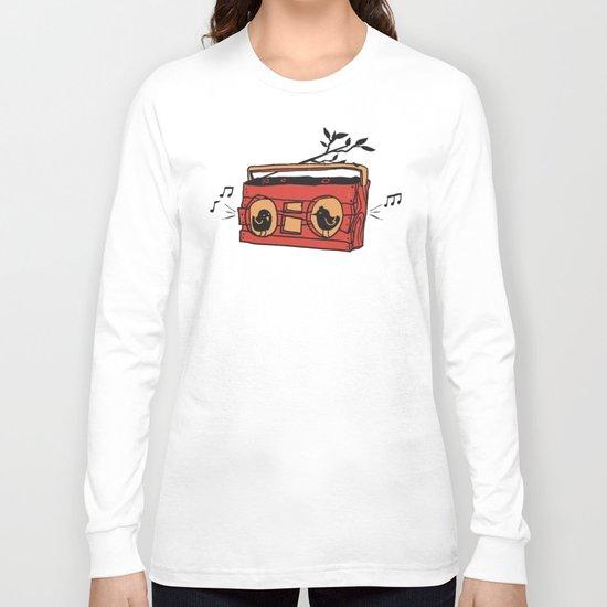 Nature's boombox Long Sleeve T-shirt