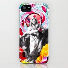 Maria (mãe de Jesus) Mary (mother of Jesus) #2 iPhone Case