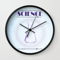 science Wall Clocks featuring Science! by ObeyMyBrain