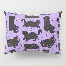 Little Black Cats Pillow Sham