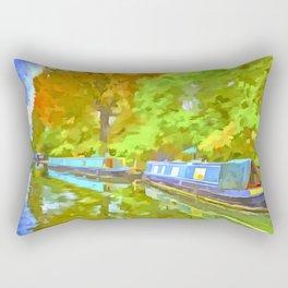 Little Venice London Pop Art Rectangular Pillow