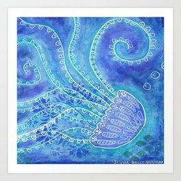 Barlings Design Jely Fish 2 Art Print