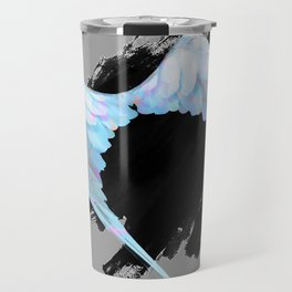 Grunge Wings Travel Mug