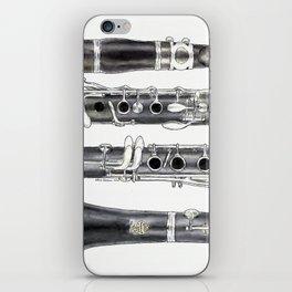 Klarinette iPhone Skin