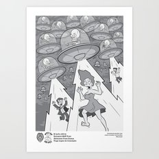 Abduction From Uranus Art Print
