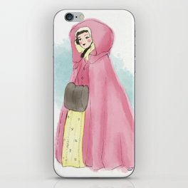Old World Winter - Claire Fraser iPhone Skin