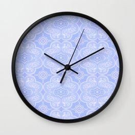Snowflake Elephant Pattern Wall Clock