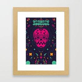 LOS MUERTITOS V01 Framed Art Print