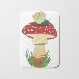 Mushroom & Snail Duo Bath Mat