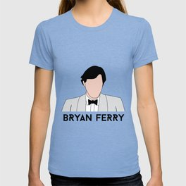 No Face Ferry - Another Time, Another Place (Bryan Ferry) T-shirt