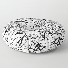 cryptography Floor Pillow