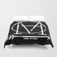 logo Duvet Covers featuring LOGO by hannamitchell
