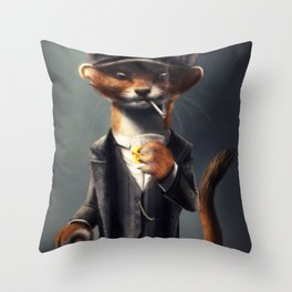 Country Club Collection #3 - By the Order Of Throw Pillow