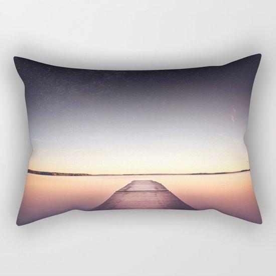 Skinny dip Rectangular Pillow