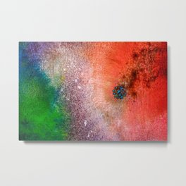 SPECKLE II Metal Print