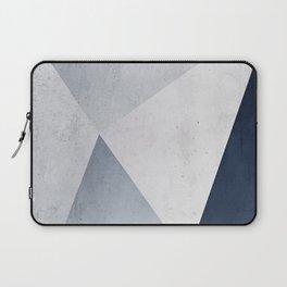 Indigo Minimal Geometry Laptop Sleeve