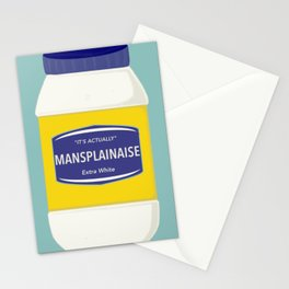 Mansplainaise Stationery Cards