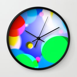 Colorfull Wall Clock