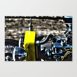 HDR Bucket Roadster Engine Canvas Print