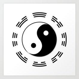I Ching Art Print