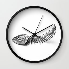 Sea and mountain Wall Clock