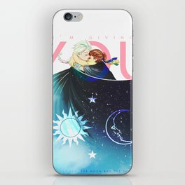 The Sun, the Moon and the Sky iPhone Skin