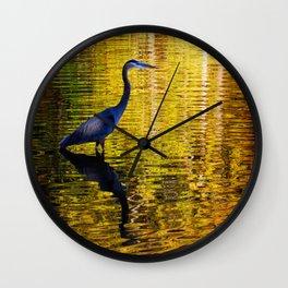 Autumn Majesty Wall Clock