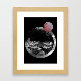 Echo the sun Framed Art Print