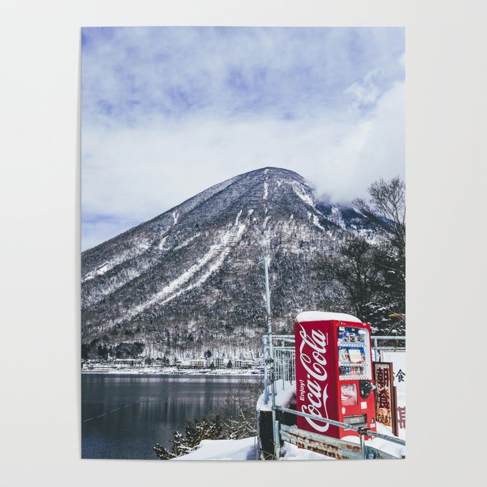 In the Japanese mountains Poster