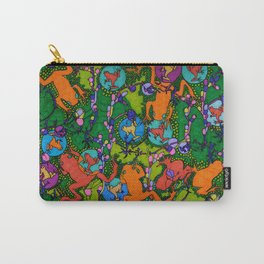 Frogs Carry-All Pouch
