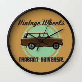 Vintage Wheels: Trabant 601 Universal Wall Clock