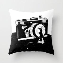 Captured Universe Throw Pillow