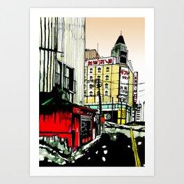 Sapporo Art Print
