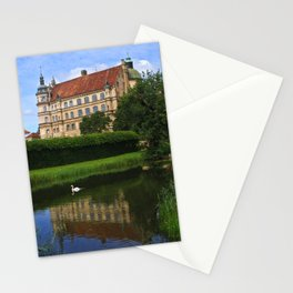 castle of Güstrow 3 Stationery Cards