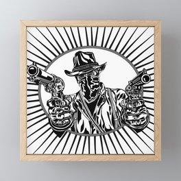 Arthur: Outlaw in Need of a Plan Framed Mini Art Print
