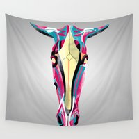 horse Wall Tapestries featuring horse by Alvaro Tapia Hidalgo