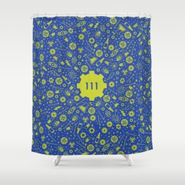 Fallout 4 Vault 111 Shower Curtain